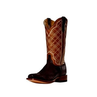 Cinch Western Boots Mens Cowboy Leather Paige Sao Paulo Rust CFM134