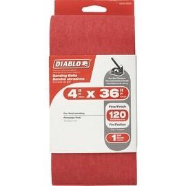 Diablo 4X36 120G Sanding Belt