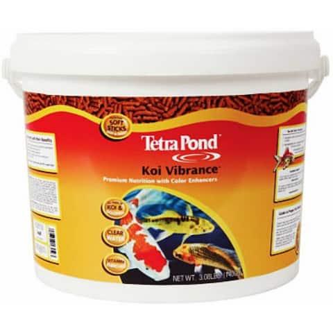 Tetra Pond 16459 Koi Vibrance Food, 3.08 lb