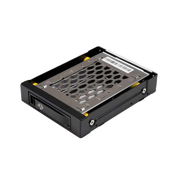 """Startech 2.5 Sata Drive Hot Swap Bay For 3.5"""" Front Bay - 2.5In Sata Ssd/Hdd Hard Drive Rack - Anti-Vibration - Mobile R"""