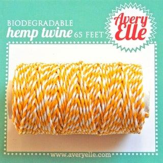 Citrus - Avery Elle Hemp Twine 65ft