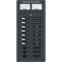 Blue Sea Systems Breaker Panel DC 10 Pos - 8082