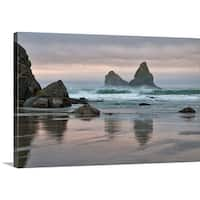 Premium Thick-Wrap Canvas entitled USA, Oregon, Bullards Beach