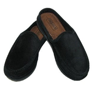 Trooper America Men's Corduroy Mule Slide Slippers