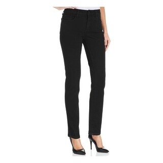 NYDJ Womens Petites Alina Denim Leggings Lift Tuck High Waist