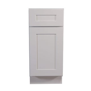 "Design House 613125 Brookings 34.5"" x 12"" Single Door Base Cabinet - White - N/A"