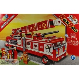 820 Piece Firetruck Building Set by BanBao