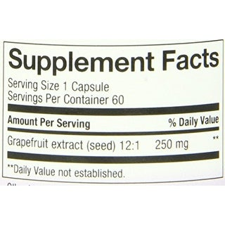 Nature's Way Grapefruit Seed Extract 60 Vcap