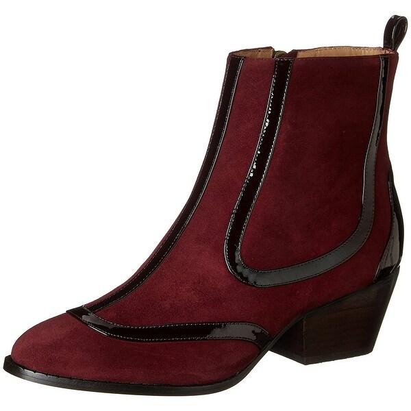 Vivienne Westwood NEW Bordeux Women's Shoes Size 6M Ankle Suede