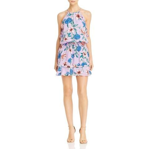 Parker Womens Williame Casual Dress Silk Smocked - Lais FLeur