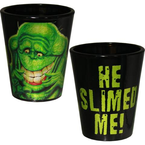 Ghostbusters Slimer Shot Glass