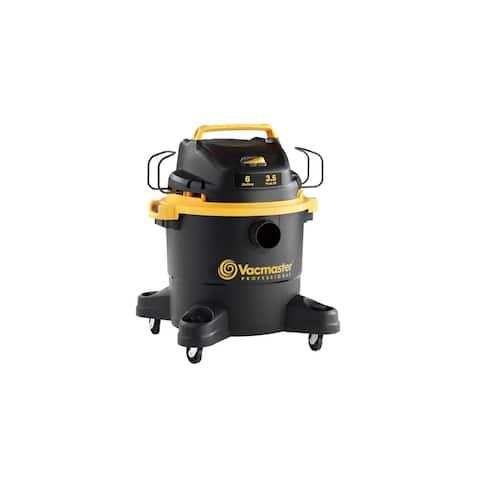 Vacmaster VJF608PF 0201 Pro 6G 3.5 Peak HP Wet/Dry Vac