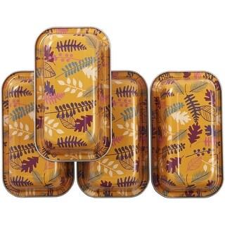 Bake & Bring Mini Tin Loaf Pans 4/Pkg-Autumn