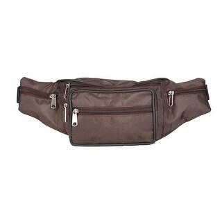 CTM® Large Multi Pocket Waist Pack
