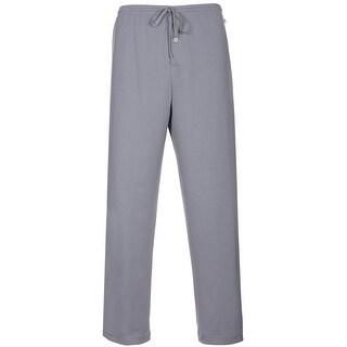 Karen Neuburger Mens Sleepwear Drawstring Pajama Pants Light Grey Medium M