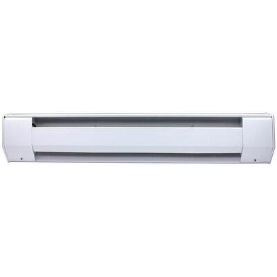King 4K1210A 1000W 120V 48 inch Baseboard Heater - almond