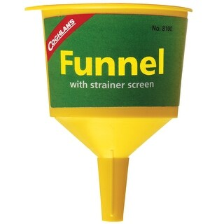 Coghlan's Fuel Funnel With Screen 8100