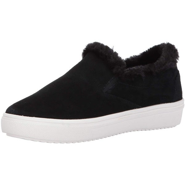 Shop Steven by Steve Madden Womens cuddles Low Top Slip On Fashion ... 2438bf722e