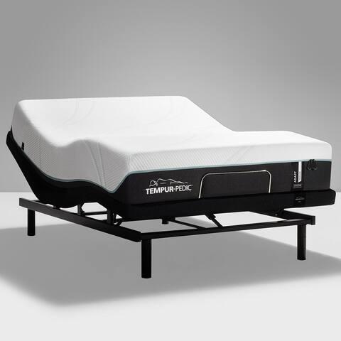 TEMPUR-ProAdapt 12-inch Mattress and Ergo Adjustable Bed Set