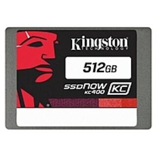 "Kingston SSDNow KC400 512 GB 2.5"" Internal Solid State Drive - (Refurbished)"