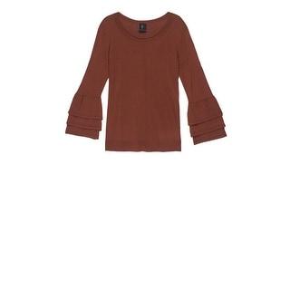 Bobeau Cora Ruffle Sleeve Plus Size Sweater
