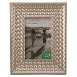 """Champagne Gold Honeycomb Picture Frame- 4"""" x 6"""" - 4-inchx6-inch"""