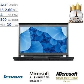 "Lenovo ThinkPad X230 Core i5, 4GB, 500GB HD 12.5"" HD Display, Win 10 Pro Laptop"