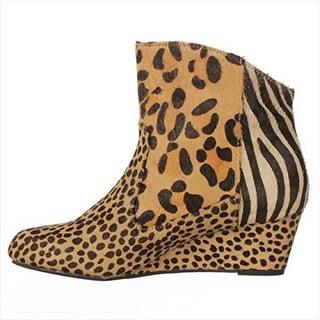 Falchi Madison Ankle Boots - Animal