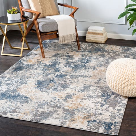 Hilde Casual Abstract Area Rug