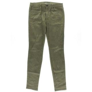 Joe's Womens Coated Denim Colored Skinny Jeans - 28
