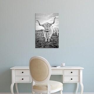 Easy Art Prints Joe Reynolds's 'Highland Cows V' Premium Canvas Art