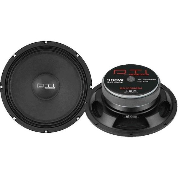Diplomat Trading DTIDS1050MB4 10-Inch Midbass Driver