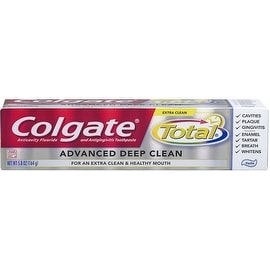 Colgate Total Advanced Fluoride Deep Clean Toothpaste, 5.8 oz