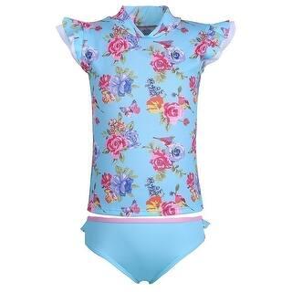 Sun Emporium Little Girls Blue Pink Blossom Print Sun Shirt Bikini Set (Option: 6)|https://ak1.ostkcdn.com/images/products/is/images/direct/6757a8d1c98331d0dd9336d73f0e505a0b76e513/Sun-Emporium-Little-Girls-Blue-Pink-Blossom-Print-Sun-Shirt-Bikini-Set-4-6.jpg?impolicy=medium