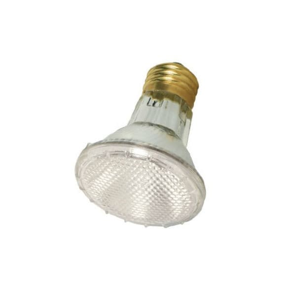 Satco S2232 Halogen Narrow Floodlight Bulb, 39 Watts, 120 Volt