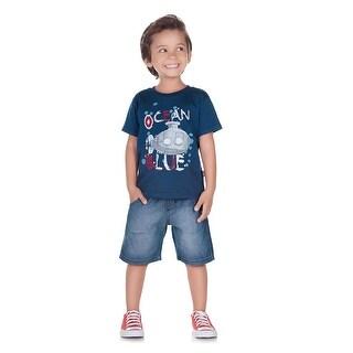 Pulla Bulla Toddler Boy Graphic Tee Short Sleeve Tee