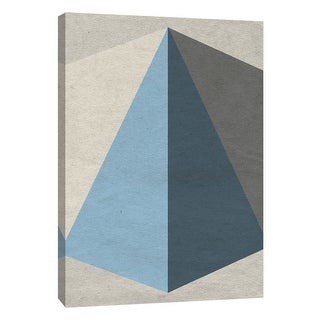 "PTM Images 9-108409  PTM Canvas Collection 10"" x 8"" - ""Linen Geometrics B"" Giclee Patterns and Designs Art Print on Canvas"