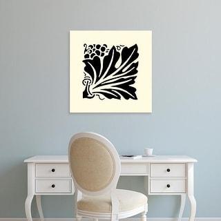 Easy Art Prints Vision Studio's 'B&W Graphic Beauty IV' Premium Canvas Art