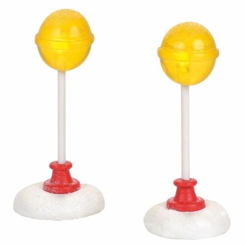 Lighted Candy Corner Street Lights
