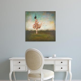 Easy Art Prints Duy Huynh's 'Boundlessness in Bloom' Premium Canvas Art