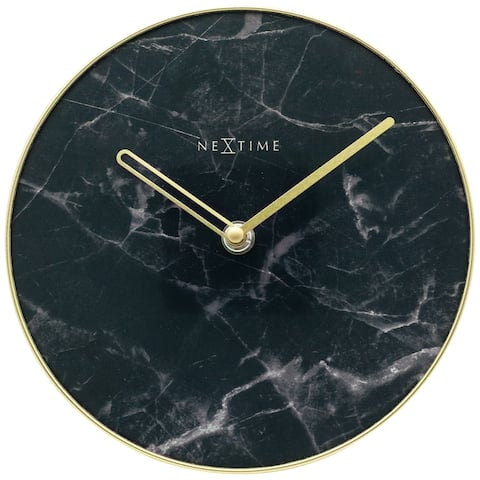 NeXtime Marble Table Clock - small