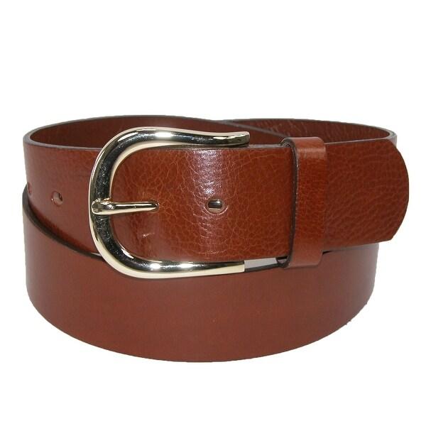 Belt Shak Women's Italian Leather Bridle Belt