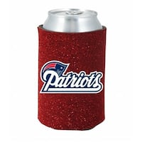 New England Patriots Kaddy Can Holder - Glitter