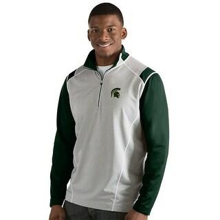 Michigan State University Men's Automatic Half Zip Pullover