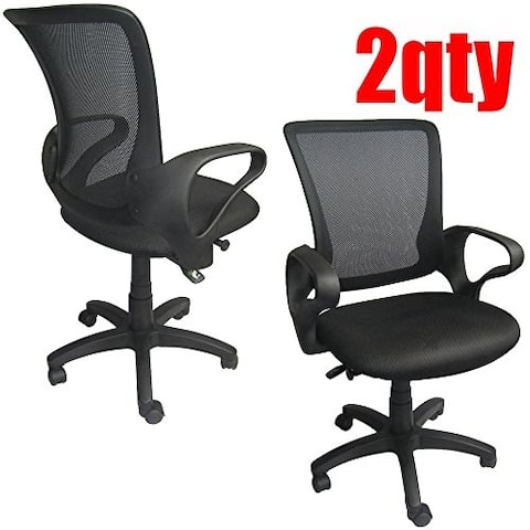 Mesh Classic Executive Manager Conference Computer Desk Mid-Back Task Swivel Adjustable Office Chair