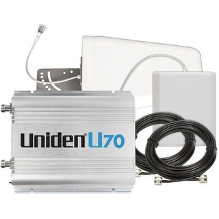 Uniden U70 Cellular Booster Kit with Outdoor Yagi 9 - Indoor Panel - 50ft U5D - 15ft U5D Booster Kit