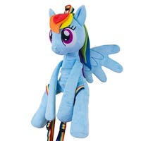 My Little Pony Rainbow Dash Adjustable Character Backpack - Multi