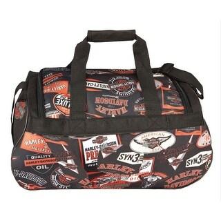 Harley-Davidson Logo Sport Light-Weight Duffel Bag, 20 x 9 x 10 inch 99418 LOGO