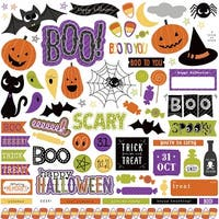 """Trick Or Treat Stickers 12""""X12""""-Element"""