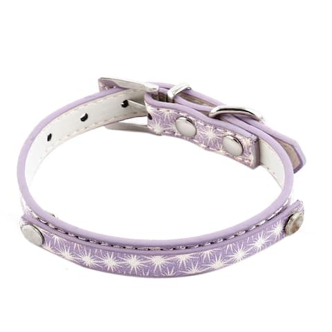 Pet Adjustable Dog Doggy Puppy Belt Buckle Collar Neck Strap